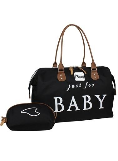 Stylo Just For Baby Anne Bebek Bakım Çantası Siyah